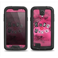 The Burn Book Pink Samsung Galaxy S4 LifeProof Fre Case Skin Set
