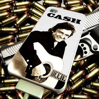 Johnny Cash the legend for iPhone 4/4s/5/5s/5c/6/6 Plus Case, Samsung Galaxy S3/S4/S5/Note 3/4 Case, iPod 4/5 Case, HtC One M7 M8 and Nexus Case ***