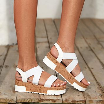 Summer new fashion large size women's sandals shoes