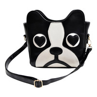 ROMWE Color Block Bag Shaped Bag