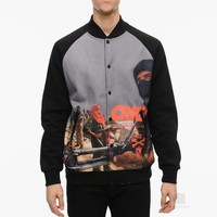 Crooks & Castles Corrupt Baseball Jacket | Caliroots - The Californian Twist of Lifestyle and Culture