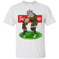 Official Supreme Rick And Morty Ultra Cotton T-Shirt