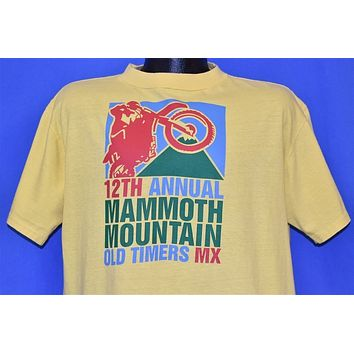 80s Mammoth Motocross Dirt Bike t-shirt Extra Large
