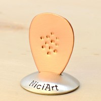 Copper Teardrop Jazz Guitar with Non-Slip Surface