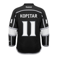 Anze Kopitar Los Angeles Kings Reebok Premier Replica Home NHL Hockey Jersey