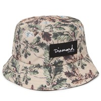Diamond Supply Co Diamond Leaf Camo Reversible Bucket Hat - Mens Backpack - Brown - One