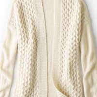 AEO Women's Cozy Open Cardigan