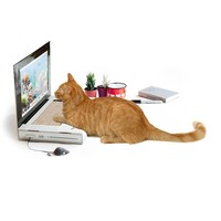 Laptop Computer Cardboard Cat Scratcher - For the cat who sits on your keyboard!