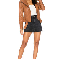 Mackage Hania Jacket in Cognac | REVOLVE