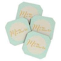 Allyson Johnson French My Love Coaster Set