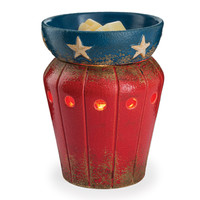 Jewelry Tart Warmer - Star Spangled