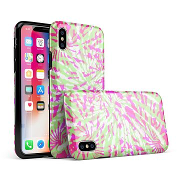 Spiral Tie Dye V4 - iPhone X Swappable Hybrid Case