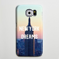 NYC Empire Sunset Dreams iPhone XS Max Galaxy S8 Case  Case Samsung Galaxy Note 5 Case s6-093