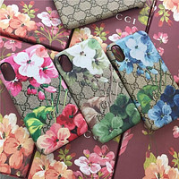 GG Fashion Print iPhone Phone Cover Case For iphone  X XR XS MAX 11 Pro Max