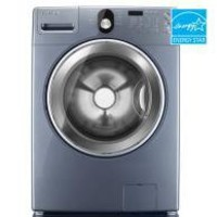 Samsung4.0 Cu. Ft. Front Load Washer (Color:  Breakwater Blue)  ENERGY STAR