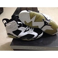 Air Jordan 6 black/white Basketball Shoes 41-45