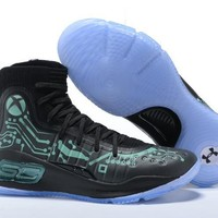 Free Shipping Under Armour Curry 4 Game Customization Basketball Sneaker