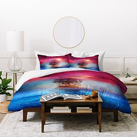 Viviana Gonzalez The lights Duvet Cover