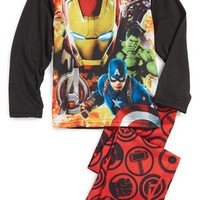 Marvel 'The Avengers' Two-Piece Pajamas (Little Boys & Big Boys) | Nordstrom