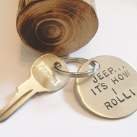 Jeep Keychain for Women Gifts for Jeep Wrangler Lover Girlfriend Jeep Girl Jeep Accessories for Offroad Jeeps Gifts Personalized Jewelry Men