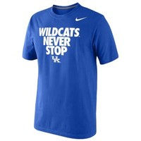 Nike College Never Stop T-Shirt - Men's