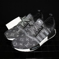 Tagre™ Adidas NMD x Louis Vuitton Boost Black Sneakers