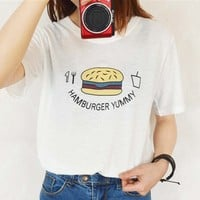 Hamburger Yummy Shirt
