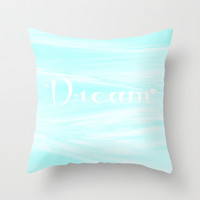 Dream Throw Pillow by Sweet Moments Captured