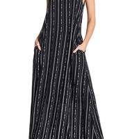 WEST KEI | V-Neck Gauze Maxi | Nordstrom Rack