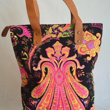 Boho Tote Canvas Bag hippie bag bohemian bag Tote bag Hobo bag Nepali Canvas Tribal Hippie bag Gypsy bag Beach bag Boho Bag Summer Purse