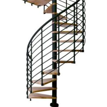 Dolle, Oslo 47 in. 11-Tread Spiral Staircase Kit, 67412 at The Home Depot - Mobile
