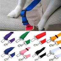 New Qualified Vehicle Car Seat Belt Seatbelt Harness Lead Clip Pet Cat Dog Safety dig6314