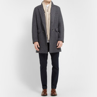 Barena - Double-Breasted Knitted Wool-Blend Coat   MR PORTER
