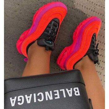Nike Air Max Plus 97 Racer Pink Gym Sneakers Sport Shoes