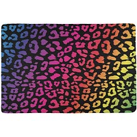 Rainbow Cheetah Print All Over Placemat