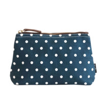 Dots Navy Pouch