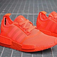 ADIDAS NMD R1 Hot selling classic men and women casual shoes sneakers-10