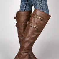 Double Buck Riding Boots