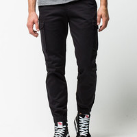 Levi's Banded Cargo Mens Jogger Pants Black  In Sizes