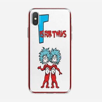 Thing 1 And Thing 2 iPhone XS Max Case