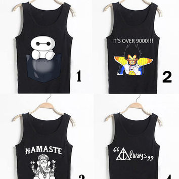 awesome tank top summer for unisex adult clothing