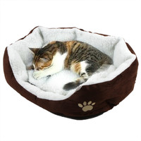 Cute Soft Winter Cat Bed  Mini House for Cat Pet Dog Sofa Bed Good Products for Puppy Cat Pet Dog Supplies