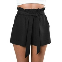 High Waist Casual Shorts