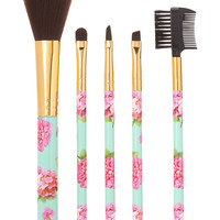 Young & Free Cosmetic Brush Set