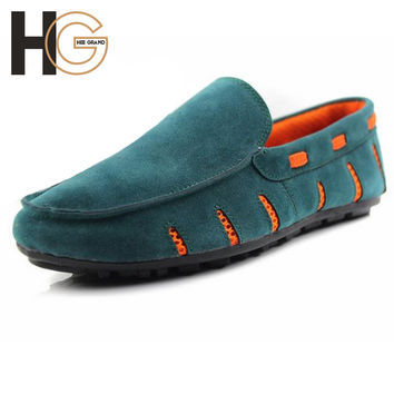 Spring Summer Breathable Slip-on Shoes For Men 2015 Mens Loafer Shoes Fashion Casual Moccasins Flats,Drop Shipping,XMR696