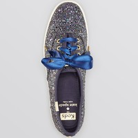 Keds® for kate spade new york Lace Up Sneakers - Glitter