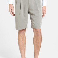 Cutter & Buck Double Pleated Microfiber Twill Shorts,