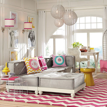 Lounge Room Decorating Ideas | Bold Colors