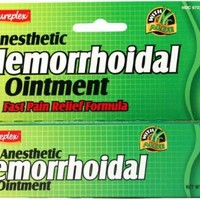 Natureplex Anesthetic Hemorrhoidal Ointment Fast Pair Relief Formula