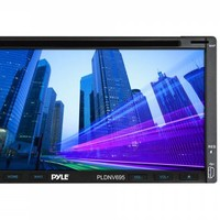 """Pyle® - Double DIN DVD/MP4/MP3/CD Player with 6.95"""" Touch Screen Monitor"""